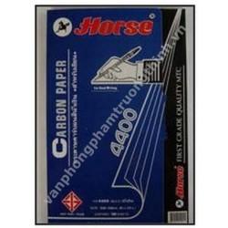 Giấy than xanh Horse 4400